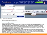 american airlines manage bookings