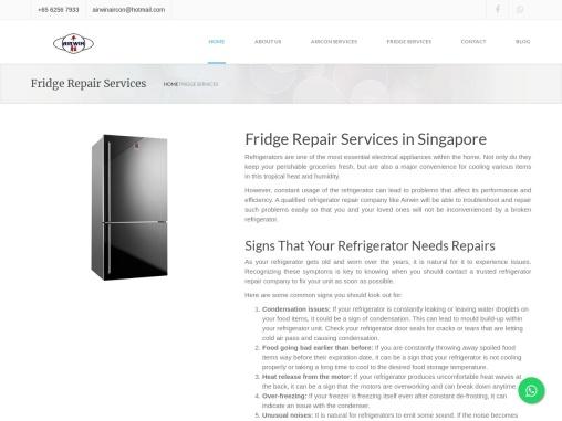 Fridge Repair Singapore
