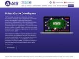 poker game developers   poker software developers – AIS Technolabs