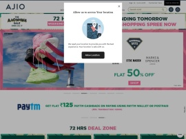 Online store Ajio