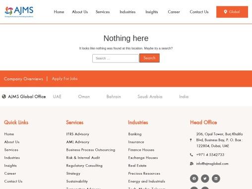 Compliance Advisory Services in Dubai, UAE