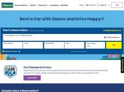 Alamo Rent A Car screenshot