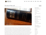 The Fear of the Lord by Marilyn Taplin
