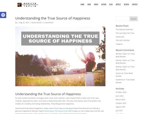 Understanding the True Source of Happiness