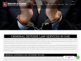 CHOOSE ONE OF THE MOST PROFESSIONAL CRIMINAL LAW FIRMS IN UAE