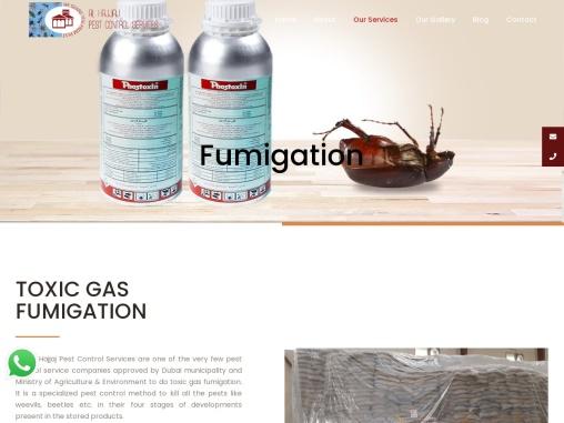 Fumigation Companies In Dubai | Call Now @ 971 42223929