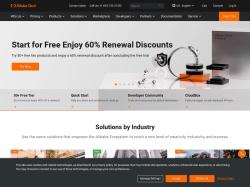 Alibaba Cloud screenshot