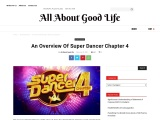 AN OVERVIEW OF SUPER DANCER CHAPTER 4