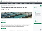 Agglomerated Activated Carbon for Water, Gas Treatment