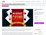 Free Sign Up Bonuses No Deposit Required for UK Casinos