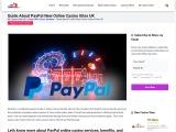 Best Online Casinos UK that Accept PayPal