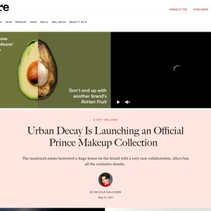 Exclusive: Urban Decay Launches Official Prince Makeup Collection With Damaris Lewis —Interview | Allure