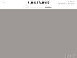 Almost Famous Clothing online brand in USA