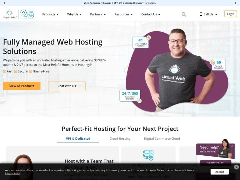 Alpha Hosting screenshot