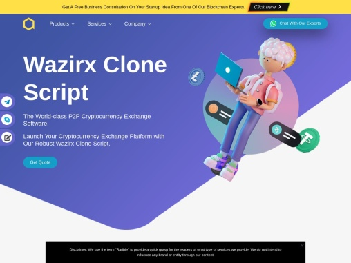 Wazirx clone script development