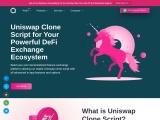 UniSwap clone script Development