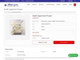 Health Supplement Powder Manufacturer