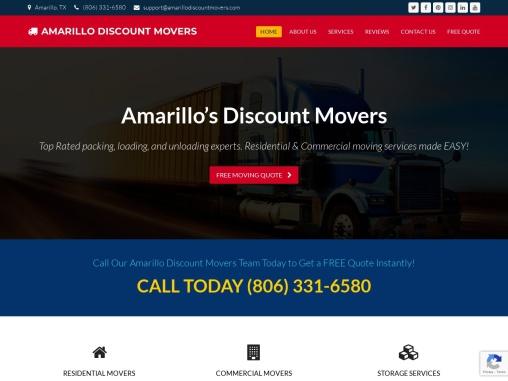 Amarillo Moving Service Companies