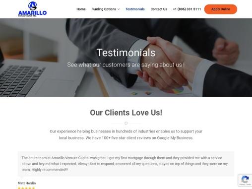 Safe Small Business Loan Amarillo