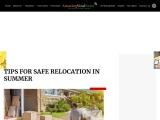 Tips For Safe Moving During Summer Time