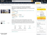 Need Book Tai Chi, Qi Gong and Standing Meditation book buy amazon