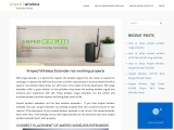 Login to amped device using setup.ampedwireless.com