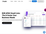 APAC Email Lists   APAC Email Database   APAC Leads