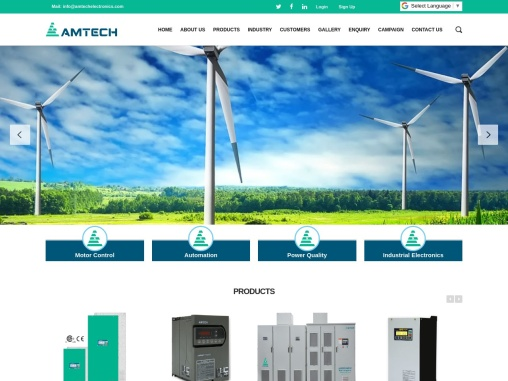 Amtech Electronics|Active Harmonic Filter|Soft Starters|Medium Voltage Drive|Active Front End Conver