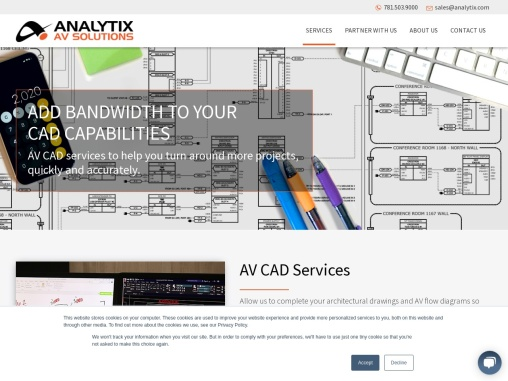 AV CAD Services, Outsourcing AV CAD