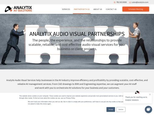 AV Partnership Opportunity – Analytix AV