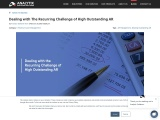 Dealing with The Recurring Challenge of High Outstanding AR