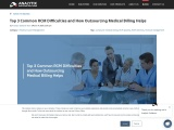 Top 3 Common RCM Difficulties and How Outsourcing Medical Billing Helps