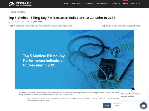 Top 5 Medical Billing Key Performance Indicators to Consider in 2021