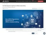New HIPAA Regulations: Significance of HIPAA-Compliant Billing