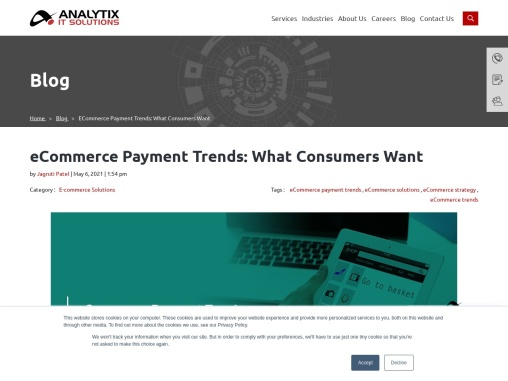 eCommerce payment trends: What consumers want