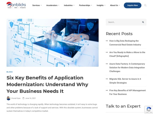 Key Benefits of Application Modernization: Understand Why Your Business Needs It