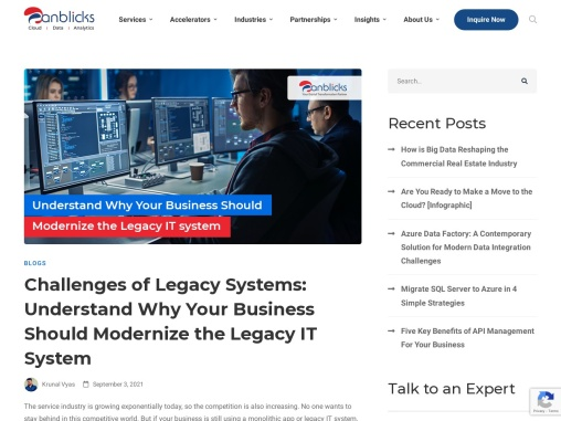 8 Problems of Legacy Systems That Can Hamper Your Business