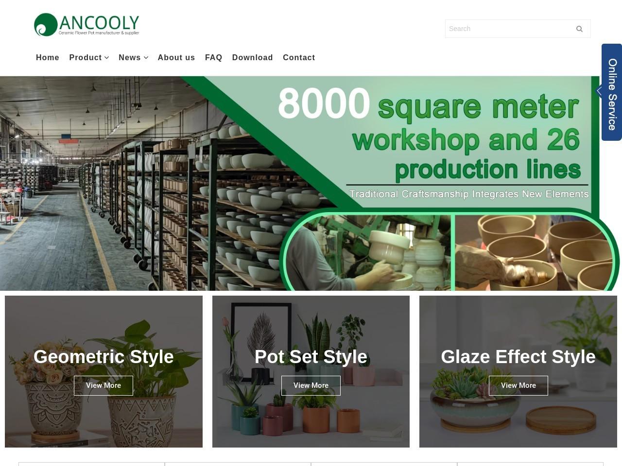 Indoor Decorative Plant Pots, Indoor Ceramic Plant Pots