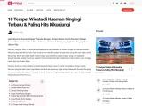 Tempat wisata yang instagramable dan menarik di Kuantan Singingi