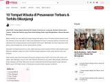Tempat wisata yang indah dan keren di Kabupaten Pesawaran Lampung