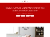 FocusOn Furniture, Digital Marketing for Retail and eCommerce