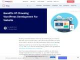 8 Benefits of Choosing WordPress Development for Business