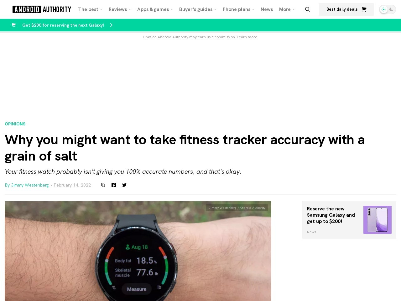 Why you might want to take fitness tracker accuracy with a grain of salt
