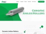 Ceramic Anilox Roller Manufacturer In Ahmedabad | Gujarat | India