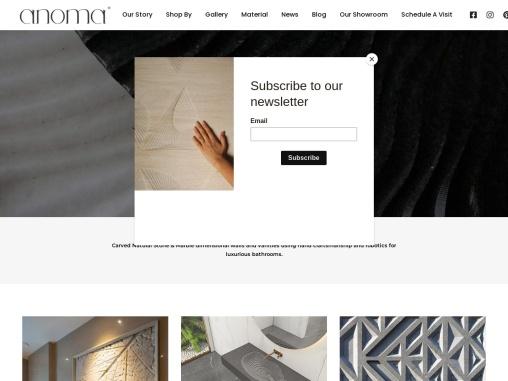 Luxury Modern Bathroom | High End Bathroom Vanities – Anoma Stone