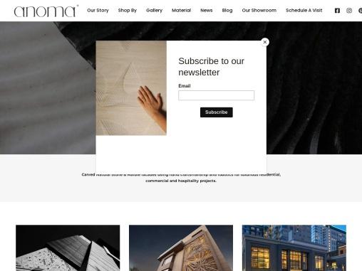 Luxury Natural Stone Facade   Stone Facade Cladding – Anoma Stone