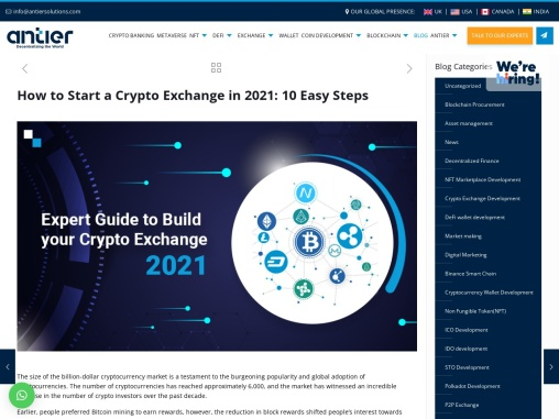 Get high-grade solutions to Create Your Own Crypto Exchange Platform