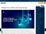 How to build a Secure White Label Crypto Exchange?