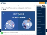 What is the Difference between Crypto Spot & Futures Trading?