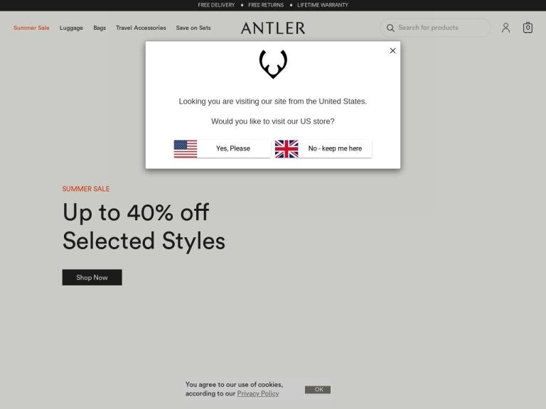 Antler screenshot